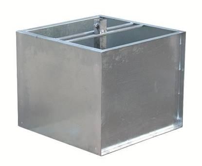 Basamento quadrato cm.60x60x50 da riempire