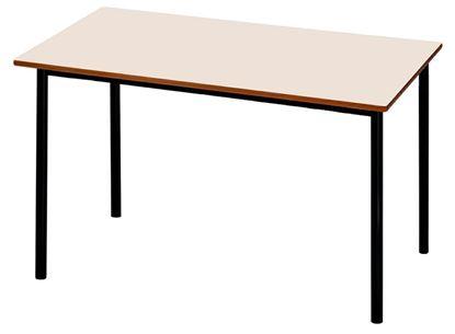 Tavolo rettangolare per mensa cm. 130x70