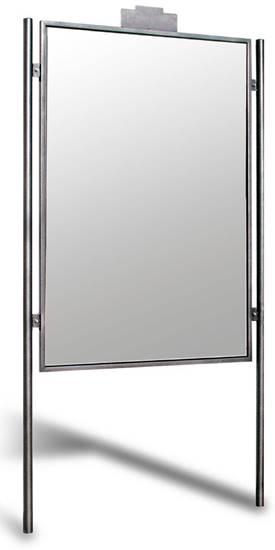 TABELLONE TORINO per affissioni bifacciali, dim. utili per affissione cm. 110x160