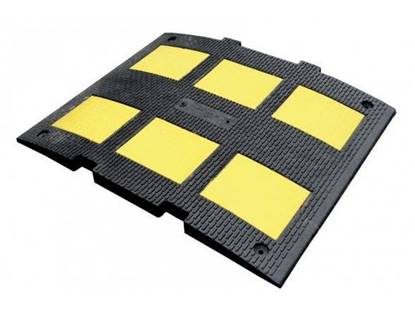 Modulo di DOSSO rallentatore di velocità omologato in gomma di altezza cm. 3