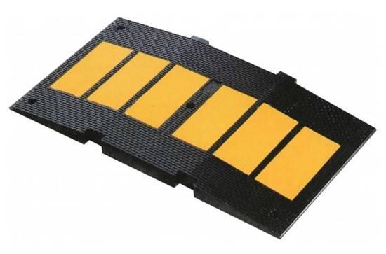 Modulo di DOSSO rallentatore di velocità omologato in gomma di altezza cm. 5