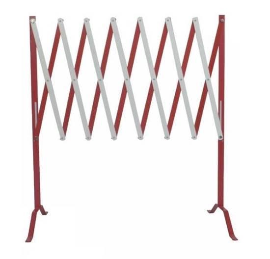 Transenna estensibile in acciaio, dimensione aperta fino a max cm. 250x90h