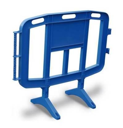 Transenna modulare in plastica con piedi girevoli cm. 126x102 h