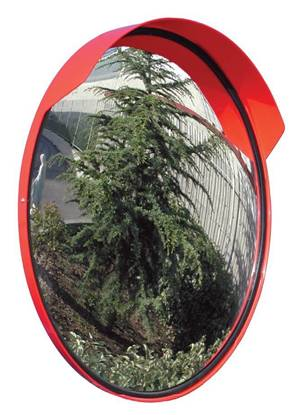 Specchio parabolico diam. cm. 60 completo di visiera