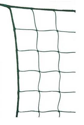 Rete di recinzione e protezione in materiale plastico completa di bordatura perimetrale