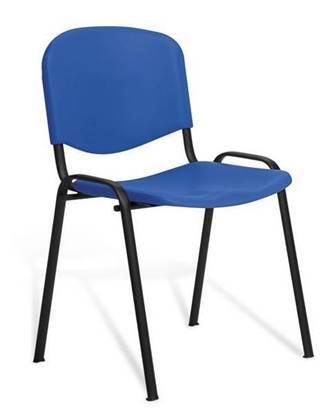 Sedia Giove con seduta e schienale in polipropilene colorato
