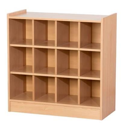 Armadio di classe in legno a n.12 caselle
