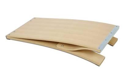 Pedana elastica in legno