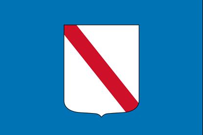 Bandiera Regioni Italiane cm. 100x150 in poliestere nautico con guaina e corda